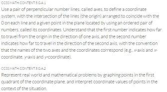 coordinate plane goals 3